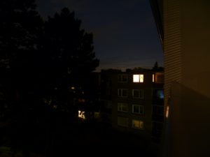 Mittsommernacht in Hamburg